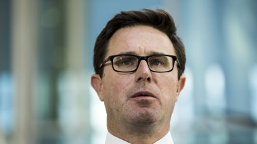Federal Water Minister David Littleproud will work with states to understand why water is being under-used by farmers during a severe drought.