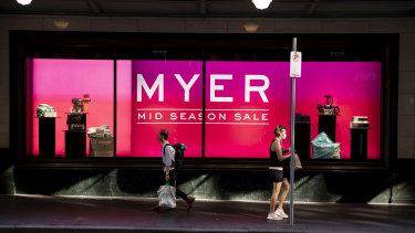 Myer and David Jones plan to slash their store numbers over the next three years.