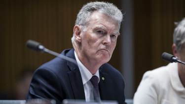 Director-general of security Duncan Lewis said ASIO's advice had been misrepresented.