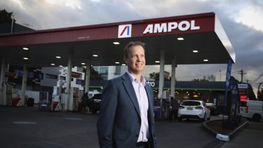 """""""A successful acquisition would create an Australia-NZ leader in fuel, with significant regional scale and trusted and iconic brands on both sides of the Tasman."""": Ampol CEO Matt Halliday."""