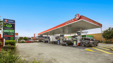 Caltex-branded service station at 337 West Street, Umina Beach, sold for $3.52 million.