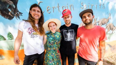 The East Pointers with Emma Watson/Wiggle.