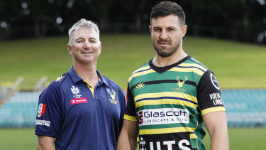 Darren Coleman (left) lifted Gordon from the wooden spoon to a Shute Shield title inside two years.