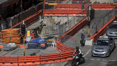 Sydney's light rail project has been dogged by repeated delays, cost blow outs and now legal action.