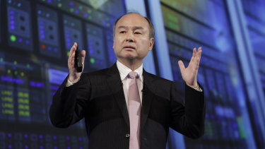 SoftBank's boss Masayoshi Son loves to take risks.