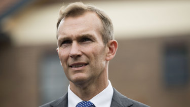 Minister for Planning and Public Spaces Rob Stokes.