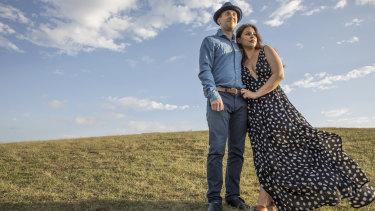Simon Tedeschi and Loribelle Spirovski: 'I enjoyed painting Simon. It felt like I was painting myself,' says Loribelle.