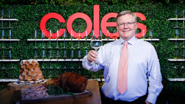 Coles chief executive Steven Cain has said a NSW-style approach to reopening Victoria would be the 'best of both worlds'.