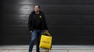 Drive Yello founder Steve Fanale said business is booming for the 'last mile' delivery startup.