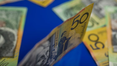 Australians are saving more during the pandemic.