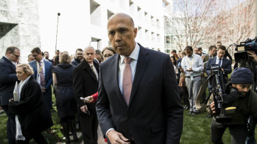 Former Home Affairs Minister Peter Dutton