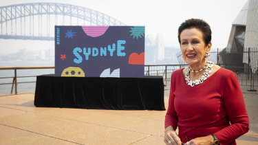 Sydney lord mayor Clover Moore says this year's firework display will focus on unity.