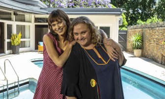 Tilda Cobham-Hervey, who plays singer Helen Reddy, and Macdonald bonded over Black Star cake while shooting in Sydney.