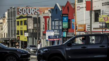 Parramatta Road at Annandale is sorely in need of revival.