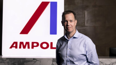 Newly appointed Ampol chief executive Matt Halliday.
