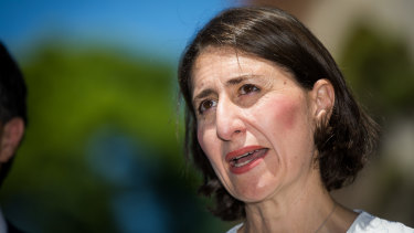 Premier Gladys Berejiklian says she will not accept the support of the Shooters to form government.
