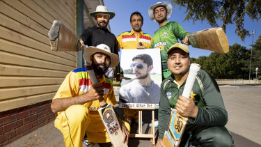 Adnan Amjid, Sudhanshu Vachaspati, Syed Jaffry, Hamid Mehmood, and Umair Yousaf were among the cricketers playing in tribute to their friend Zeeshan Akbar on Sunday.