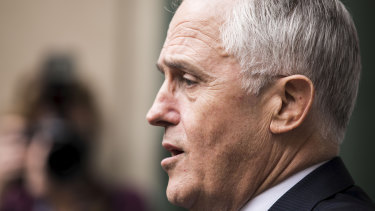 MPs need to be accountable: Prime Minister Malcolm Turnbull tells the media he wants to see a petition with Liberal MPs' names before calling a party room meeting.