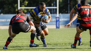 Chris Talakai was one of the best for Sydney Uni.