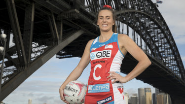 NSW Swifts coach Maddy Proud said the letter was written out of pure frustration for their fellow netballers.