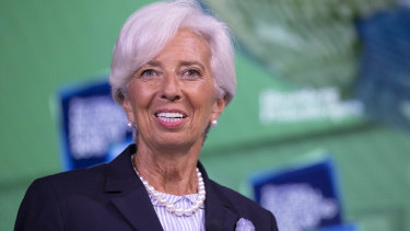 Christine Lagarde takes over as ECB chief next month.