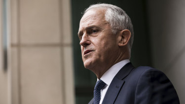 Former PM Malcolm Turnbull has left New York.