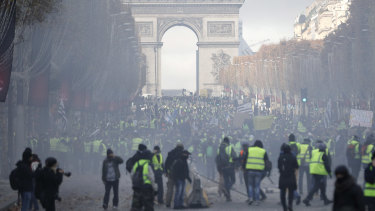 "The ""yellow vest"" movement has evolved into a wider, broadbrush anti-Macron uprising over the past three weeks."