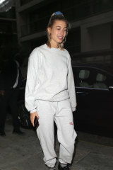 Stylist Penelope Cadzow says model Hailey Bieber (pictured) may have sparked the trend in 2018.