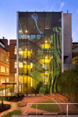 Ngarara Place at RMIT by Greenaway Architects with Charles Solomon (and artists: Aroha Groves).