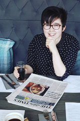 Lyra McKee was shot and killed when guns were fired during clashes with police in Londonderry, Northern Ireland.