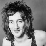 Rod Stewart in 1971, the year he wrote 'Maggie May' and stayed at Marden Hill.