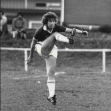 Julie Dolan in action during that famous game against New Zealand on October 6, 1979.