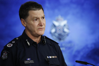 Deputy Police Commissioner Shane Patton  called the conduct 'appalling' during a media conference on Monday.