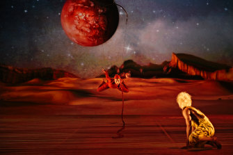 An adaptation of The Little Prince, playing at the Sydney Opera House.