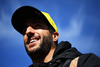 Daniel Ricciardo yearns to be back on the F1 podium.