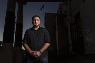 Atherton Gardens resident Ranko Cosic: Many public housing tenants are reluctant  to complain.
