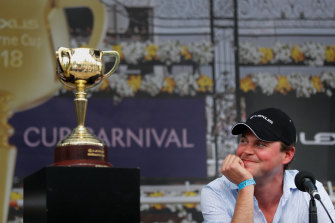 British trainer Charlie Fellowes is hoping Prince Of Arran can win the Melbourne Cup at his third attempt.