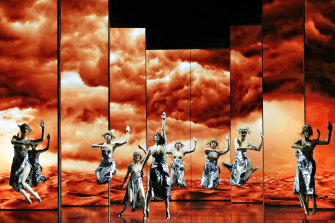 Opera Australia's Aida production.
