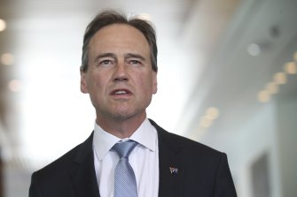 Greg Hunt postponed a ban on the importation of vaping equipment in response to divisions in the Coalition.