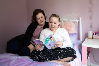 Catherine Blundy, who has autism, was expelled from her private school when she was in year 2.