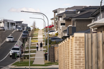 New developments in Sydney's west are particularly vulnerable to extreme heat.