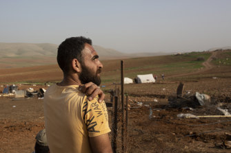 A battle of wills is under way in the occupied West Bank, where Israel has demolished the village of Khirbet Humsu three times in as many months.