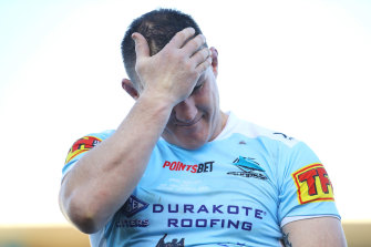 Former Cronulla Sharks and NSW Blues captain Paul Gallen copped plenty of stick for his column about single NRL players.
