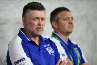 Canterbury coach Dean Pay has received support from good friend and Canberra counterpart Ricky Stuart.