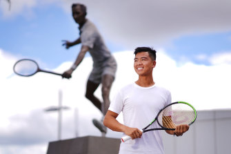 Li Tu took Andy Murray's Australian Open wildcard and believes he can beat half the draw if he plays his best.