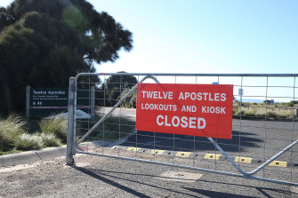 COVID-19 has closed the 12 Apostles to the public - and given locals time to rethink their approach to tourism.
