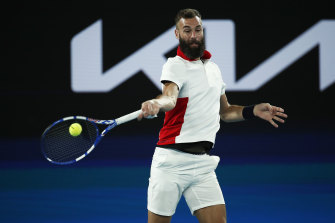 Benoit Paire blamed his time in quarantine in Australia for his first-round loss at the Australian Open.