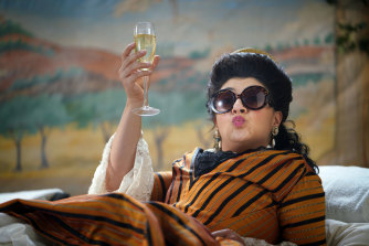 Drunk History, Susie Youssef as Nellie Melba.