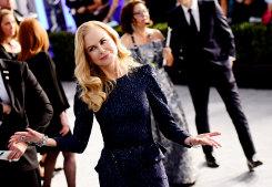 Keeping quiet: Nicole Kidman.