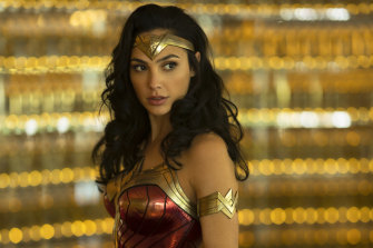 Gal Gadot in Wonder Woman 1984, which is likely to be Roadshow's final Warner Bros release.